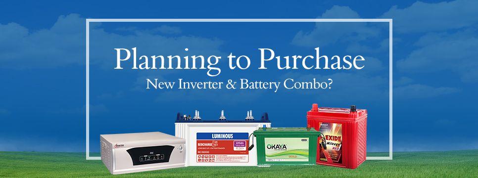 Inverter & Battery Combo