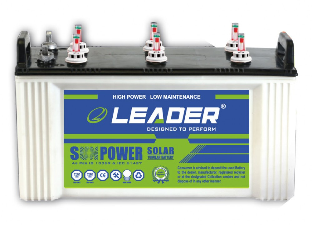 Leader LS 7524 Solar Battery