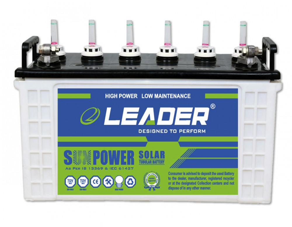 Leader LS 2036 Solar Battery