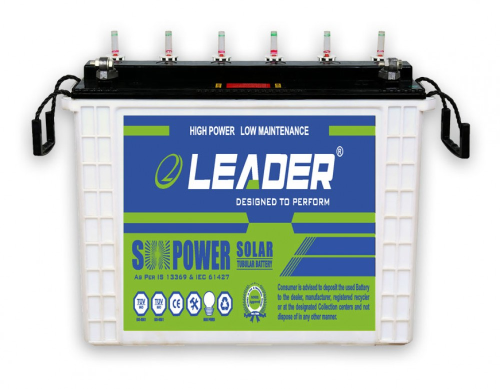 Leader LS 12036 Solar Battery