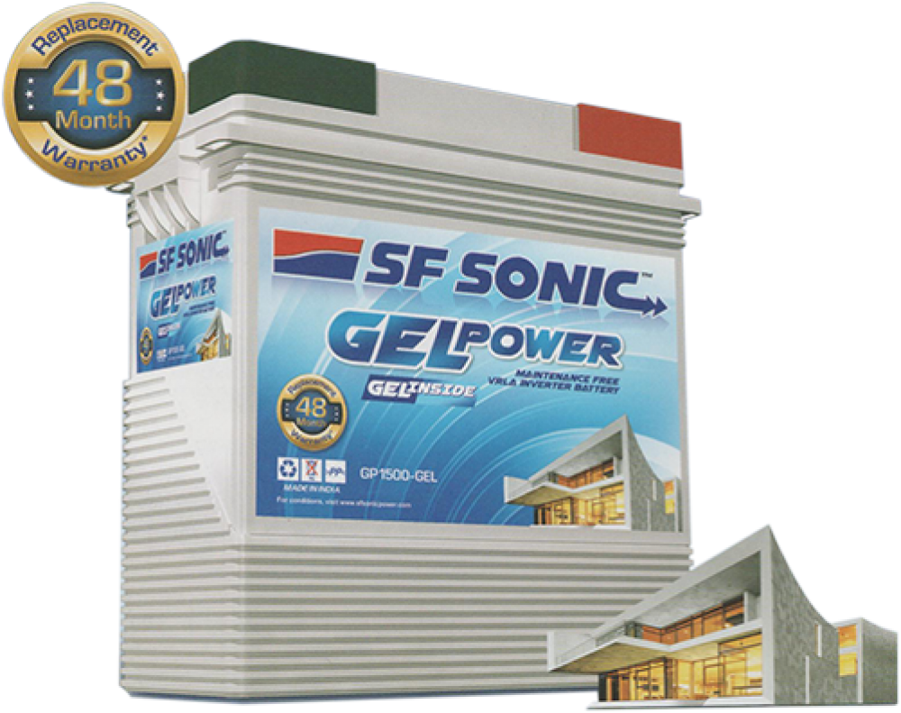 SF SONIC GEL POWER  150AH GEL BATTERY