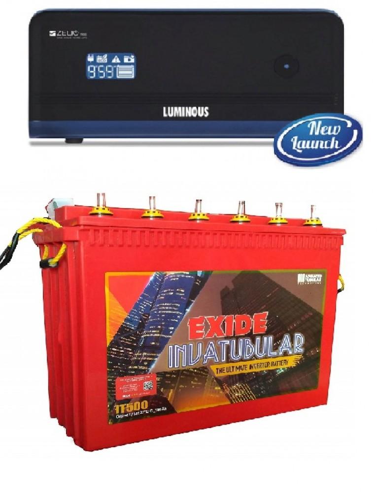 LUMINOUS ZELIO 1100+ INVA TUBULAR 1500 (150AH)