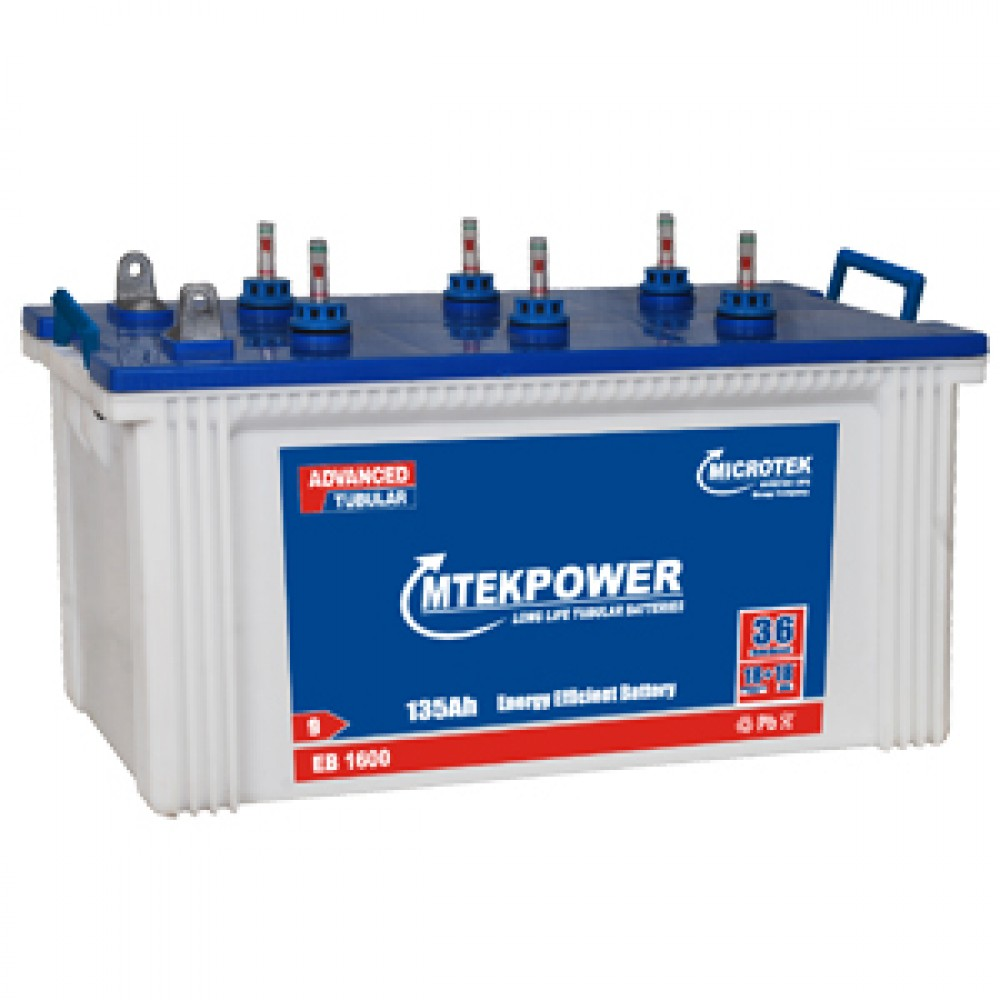 Buy Mtekpower Eb 1600 135ah Inverter Battery Online