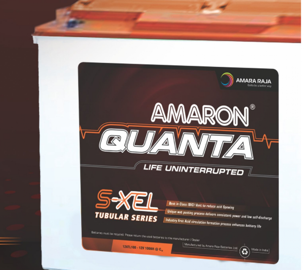 Amaron Quanta S-XEL TUBULAR BATTERY 130AH