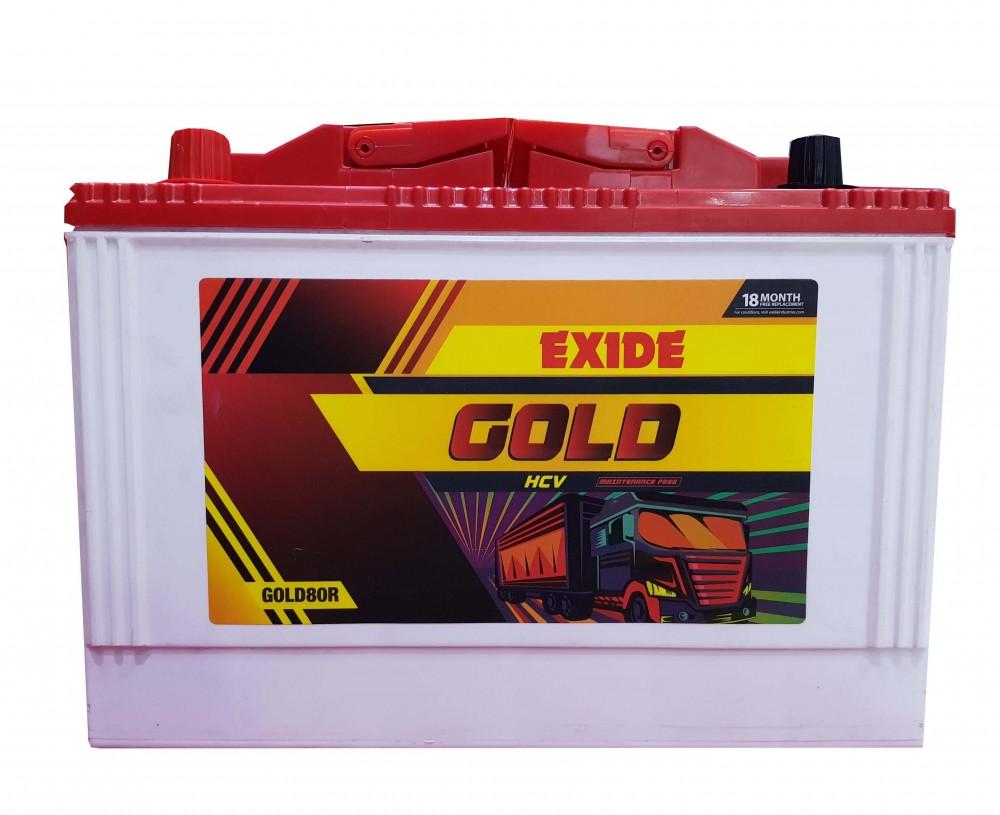 Exide GOLD 80Ah