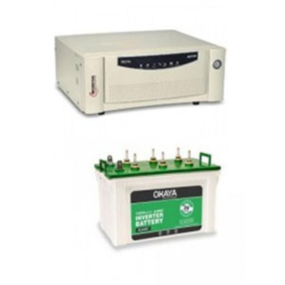 Microtek UPS EB 900 VA +  Battery XL 6600T (160 AH)