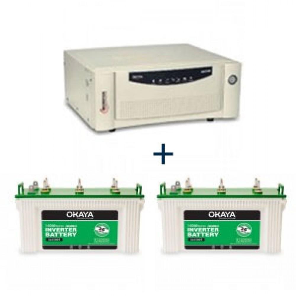 Microtek UPS EB 1700 VA + Okaya XL5500T (140Ah) X 2