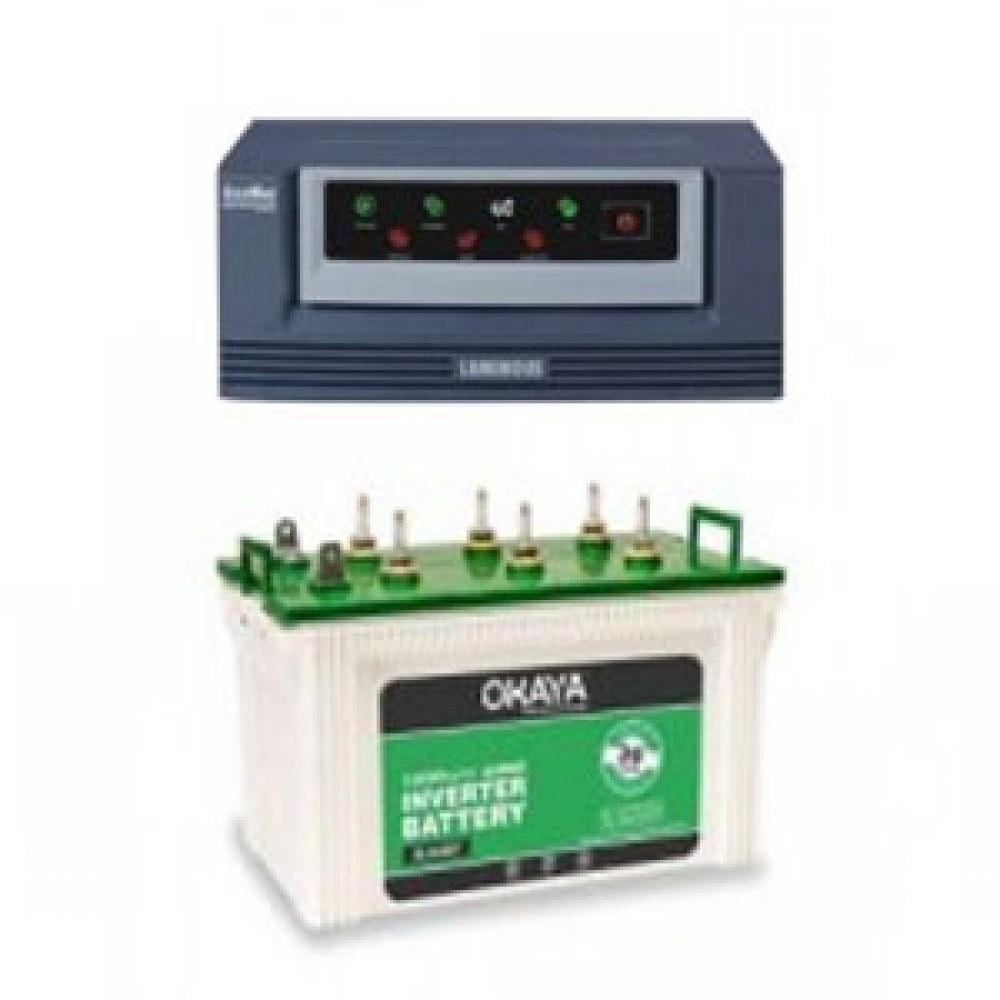 Luminous Eco Watt 850or865 Home UPS + Battery XL 6600T (160 AH)