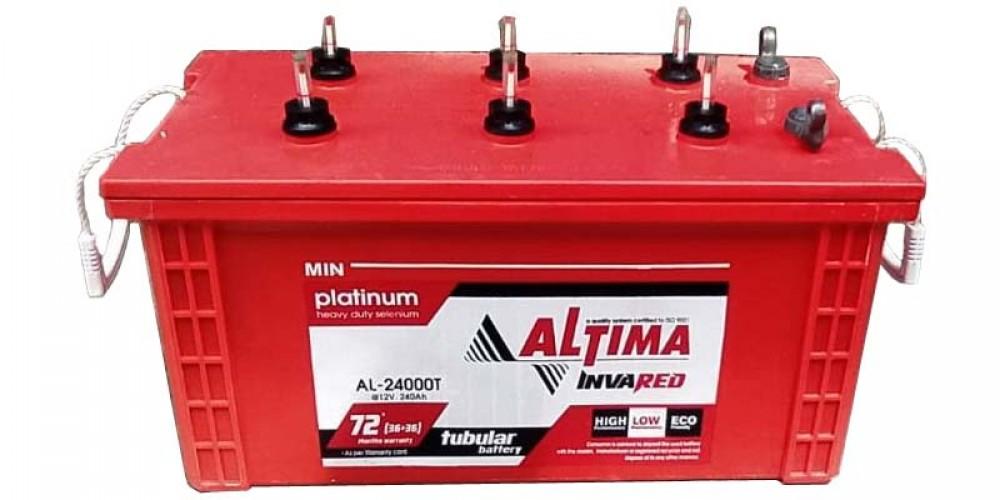 ALTIMA 24000T Tubular Battery (36+36 Month Warranty)