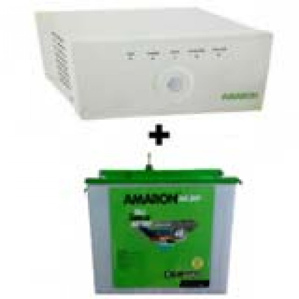 Amaron Sine Wave 675 Home Ups + AAM-CR-CRTT 150Ah Battery