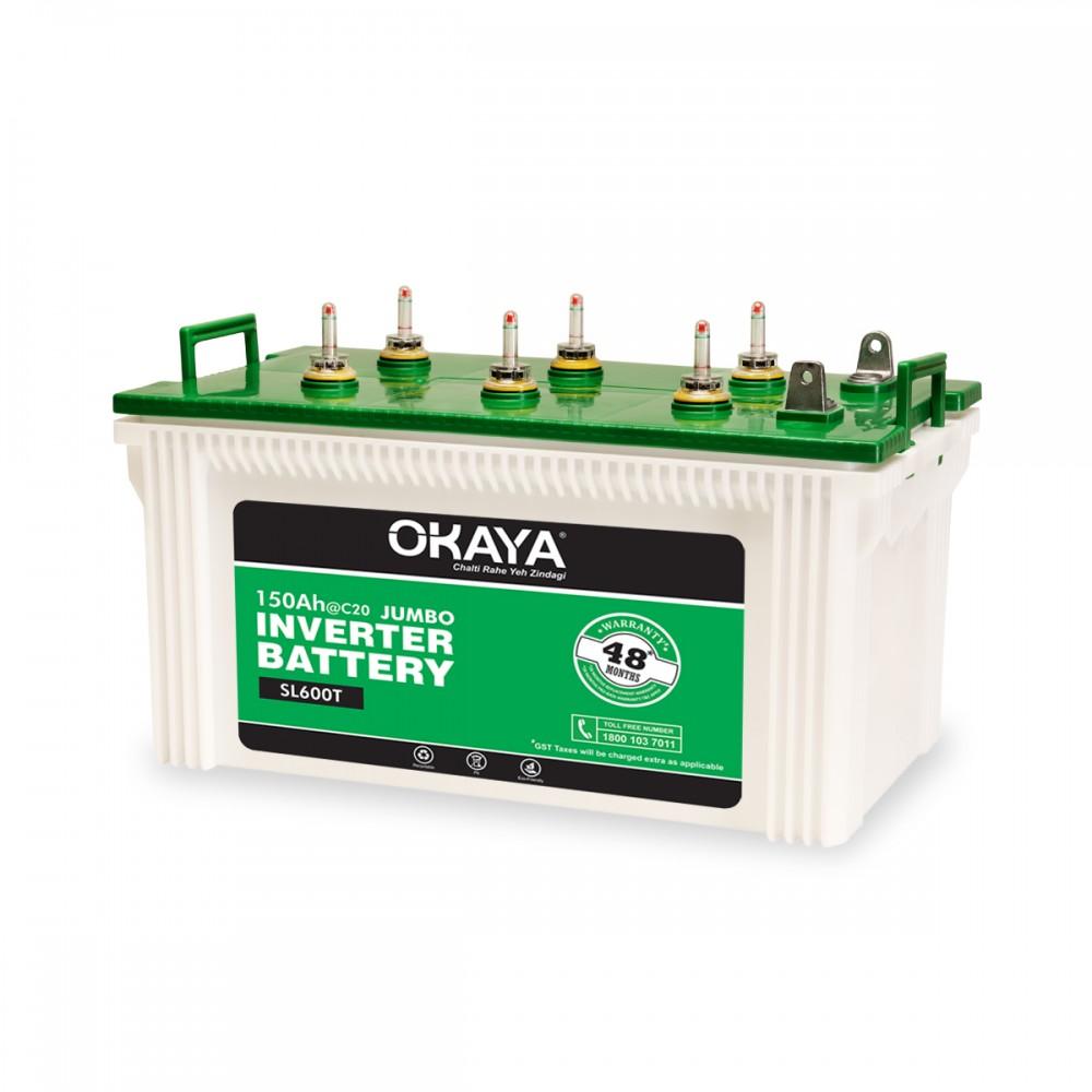 Okaya Sl 600t 150ah Battery Price Buy Okaya Sl 600t