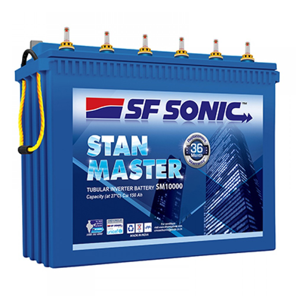 SF Sonic (Exide) Stan Master (150Ah)