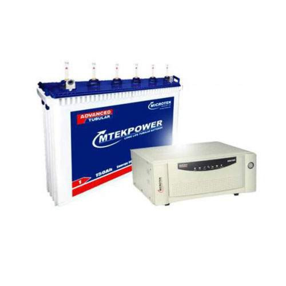 Microtek Home Ups EB 700 VA + EB 1700 (140Ah) Battery