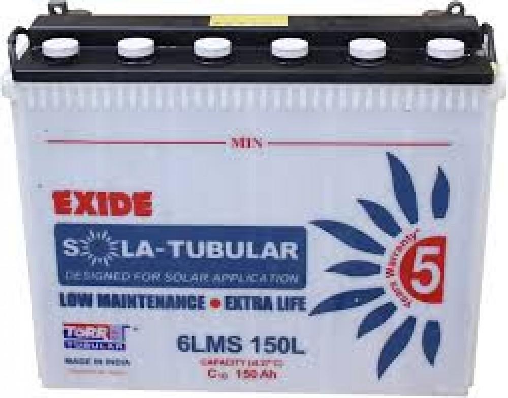 Buy Exide Solar Battery 200ah Online Exide Solar Battery