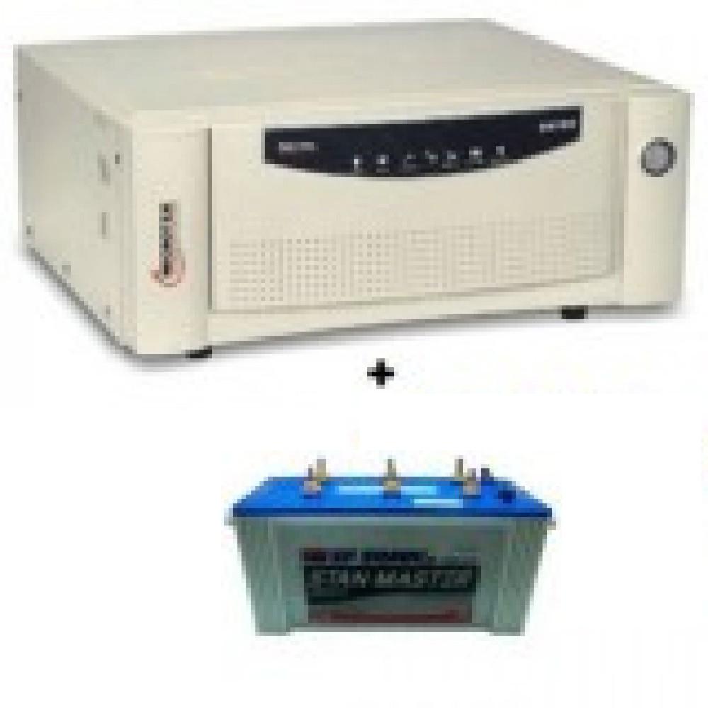 Microtek UPS EB900 Sine Wave+Sfsonic (Exide) Stan Master SM8500(150Ah)