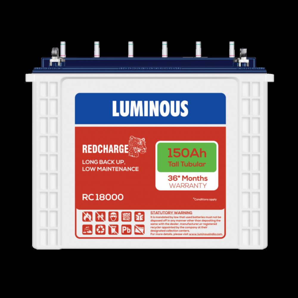 Luminous red Charge 18000 TT (150Ah)