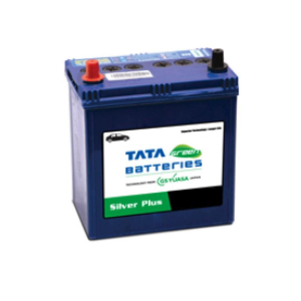 Tata Green 55D23L Silver Plus (54 Ah)