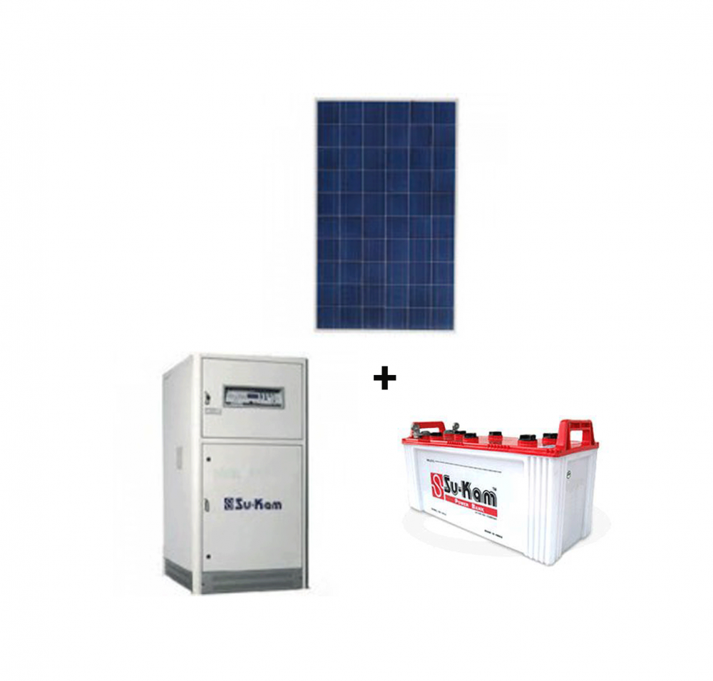 Sukam 4500W/Ups 700/ 150AH Battery Structure