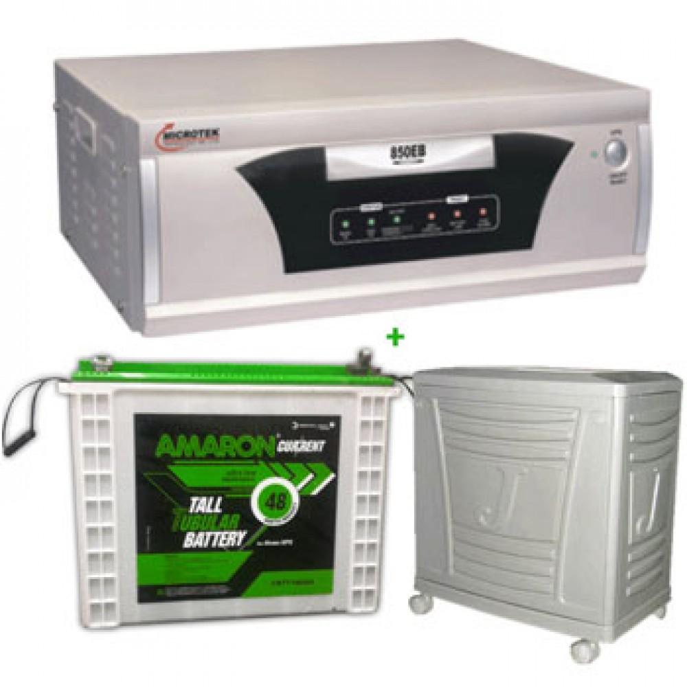 Microtek UPS SEB 1100 VA+AMARON CRTT (180Ah)