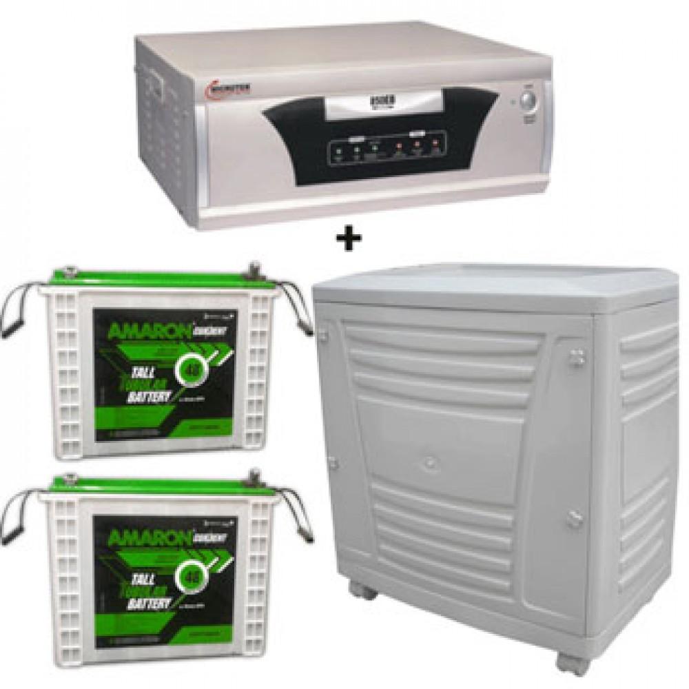Microtek UPS EB 1600VA + AMARON CRTT (180Ah)