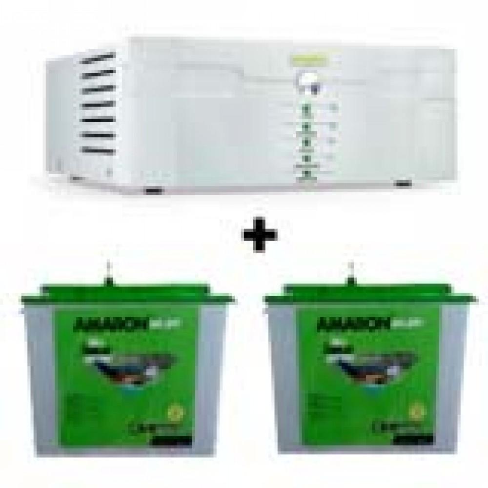 Amaron Sine Wave 1400 Home Ups+CR-CRTT 200  ah
