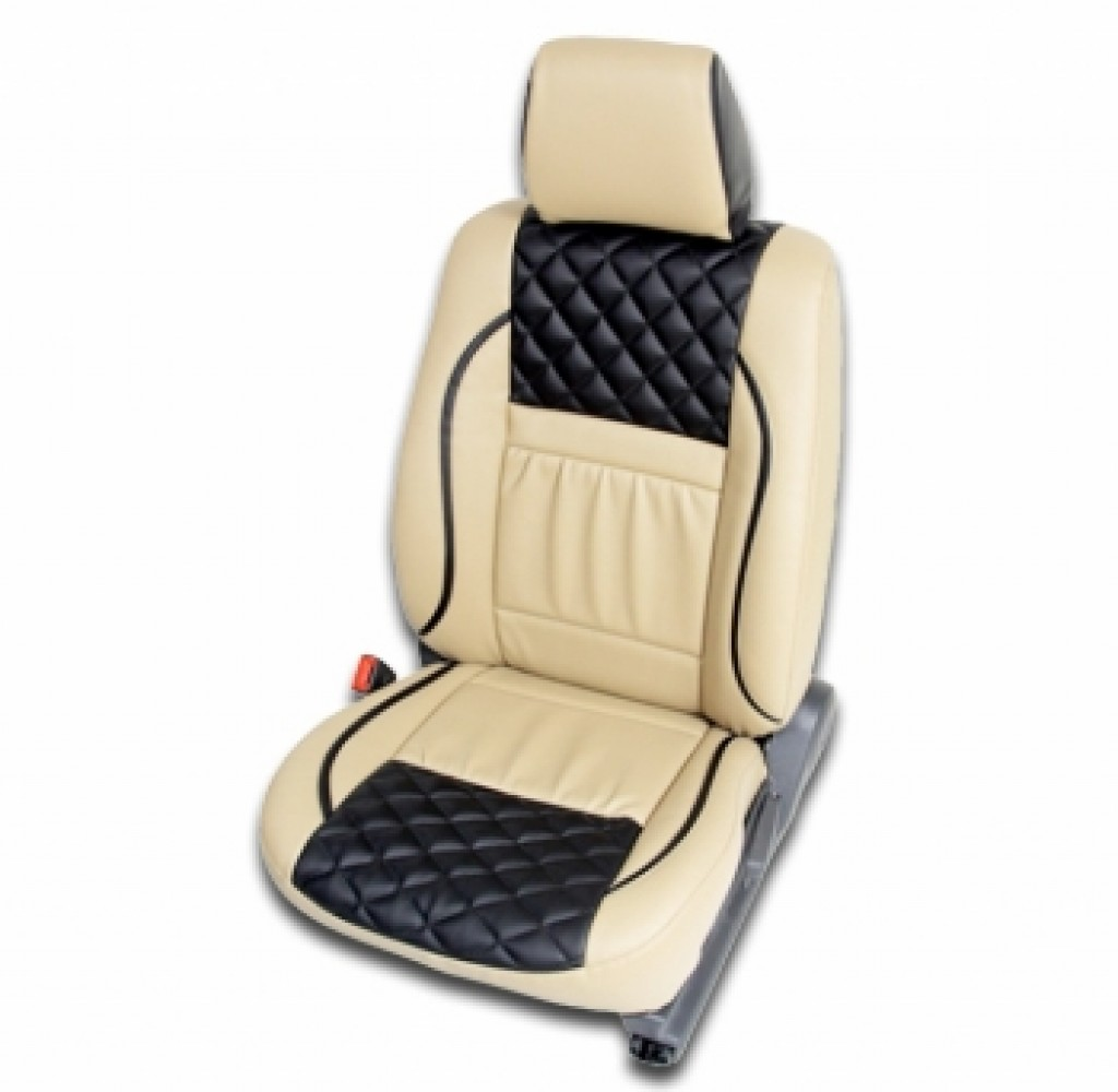Buy Leather Car Seat Cover Med 123 For Medium Car Online