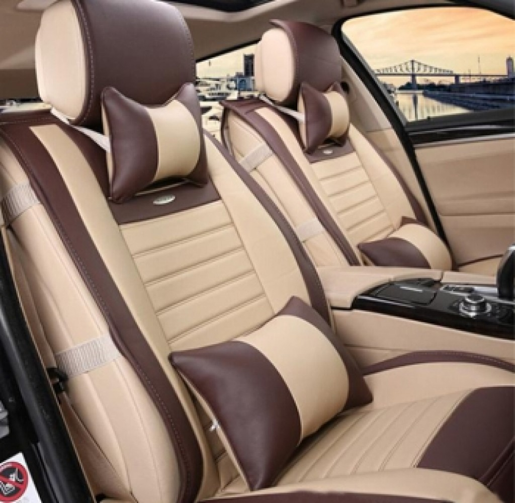 Buy Leather Car Seat Cover Med 134 For Medium Car Online In Delhi India
