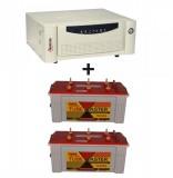 Microtek UPS EB 1600 VA+  Exide TubeMaster Tubular TM500L (150Ah)