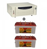 Microtek UPS SEBz Sine Wave 2000 VA+Exide TubeMaster Tubular TM500L (150Ah)