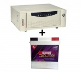 Microtek UPS SEBz Sine Wave 900 VA+ Exide Gel Magic-1500 150AH