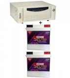 Microtek UPS SEBz Sine Wave 2000 VA+Exide Gel Magic-1500 (150AH)