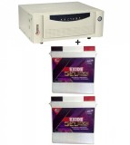Microtek UPS SEBz Sine Wave 1600 VA+Exide Gel Magic-1500 (150AH)