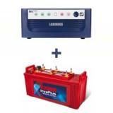 Luminous Eco Watt 650or665or Home UPS+EXIDE INVA PLUS 1500 (150 ah)