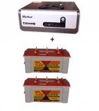 Su-kam Falcon +1600Va/ Home UPS+Exide TubeMaster Tubular TM500L (150Ah)