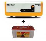 Su-kam Brainy 1100 ECO Solar Home UPS+Exide TubeMaster Tubular TM500L (150Ah)