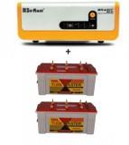 Su-kam Brainy 1600 ECO Solar Home UPS+Exide TubeMaster Tubular TM500L (150Ah)