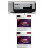 Su-kam Falcon +1600Va/ Home UPS+Exide Gel Magic-1500 150AH