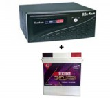 Su-Kam Shark 900VA Home UPS+Exide Gel Magic-1500 150AH