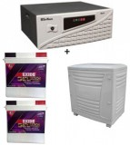 Su-Kam Shark 1500VA Home UPS+Exide Gel Magic-1500 150AH