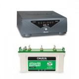 Microtek UPS Sine Wave 24X7 Hybrid 725va + Okaya XL5500T (140Ah)