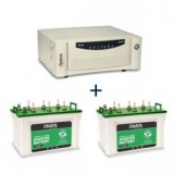 Microtek UPS EB 1700 VA + Battery XL 6600T (160 AH) X 2