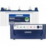 LUMINOUS ECO WATT +650VA Square Wave Inverter & LUMINOUS IL1830FP 150AH Flat Plate Battery