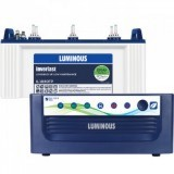Luminous Eco Volt +1050 Pure Sine Wave Inverter and Luminous IL1830FP 150AH Flate Plate Battery