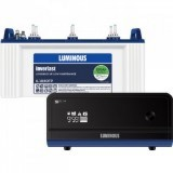 Luminous Zelio +1100VA Pure Sine Wave Inverter & Luminous IL1830FP 150AH Flat Plate Battery