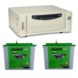 Microtek SEBz 1600VA Pure Sine Wave Inverter + Amaron CR200TT (200AH) Tall Tubular Battery