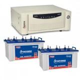 Microtek Home Ups EB 2000 VA + MtekPower EB 1900 (160 AH)