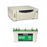 Microtek UPS EB 700 VA + Okaya Viva OV 1536JT 150ah