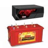 EXIDE MAGIC 825VA HOME UPS + Exide InvaMaster IMST1500 (150Ah)