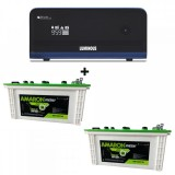 Luminous Zelio 1700 Sine Wave Home UPS + Amaron EM150ST30 (150Ah)