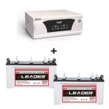 Microtek UPS XP SW 2300 + Leader LSTJ 14500 (145Ah)